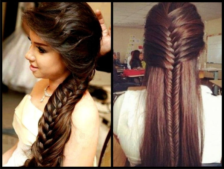 Indian Wedding Hairstyles Medium Wedding Hairstyle Ideas For Medium For Indian Wedding Hairstyles For Shoulder Length Hair (View 13 of 15)