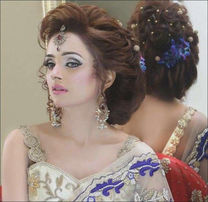 Indian Wedding Hairstyles New Hindu Bridal Hairstyles 14 Safe With Regard To Hindu Bride Wedding Hairstyles (View 12 of 15)