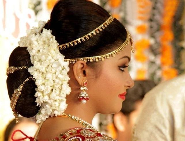 Indian Wedding Reception Hairstyles – Wedding Ideas Within Indian Wedding Reception Hairstyles (View 2 of 15)
