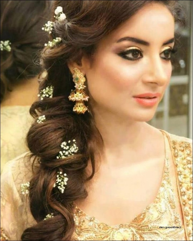 Indian Wedding Side Hairstyles New Hindu Bridal Hairstyles 14 Safe For Hindu Bride Wedding Hairstyles (View 11 of 15)