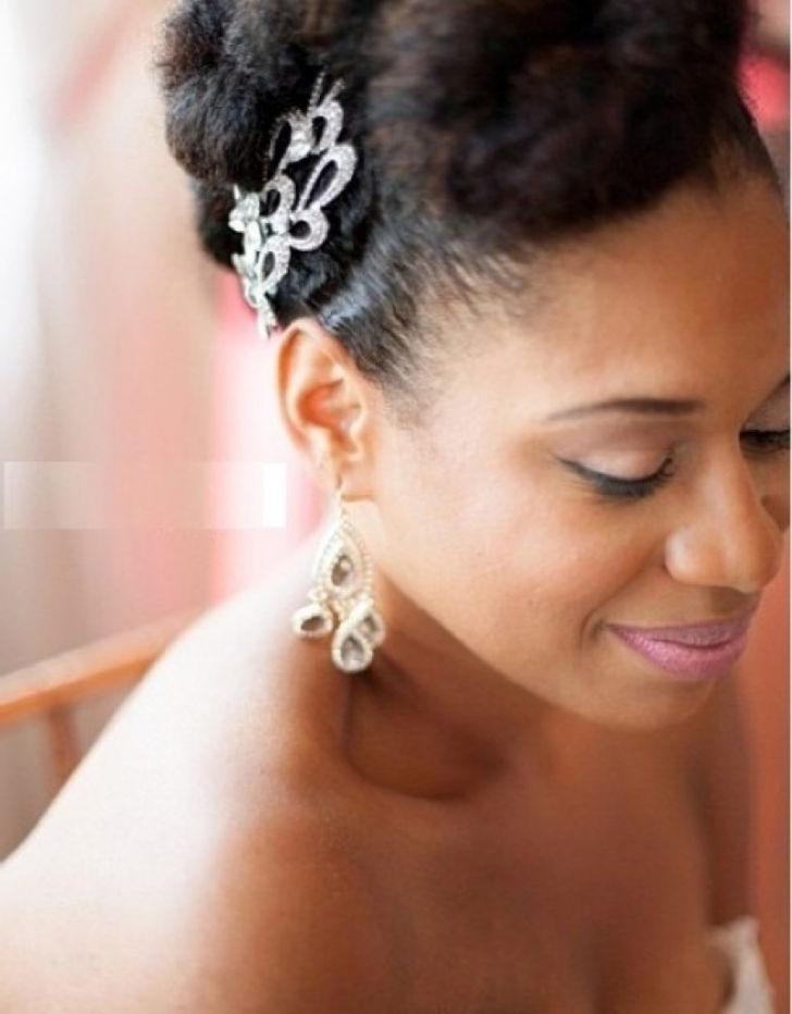 Ingrown Hair Tutorials In Particular Stunning Short Black Wedding In Short Wedding Hairstyles For Black Bridesmaids (View 12 of 15)