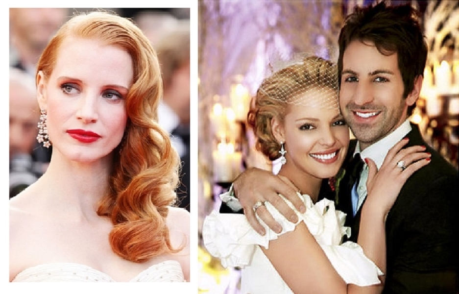 Inspiring Celebrity Wedding Hairstyles Best Wedding Hairstyles For Celebrity Wedding Hairstyles (View 12 of 15)