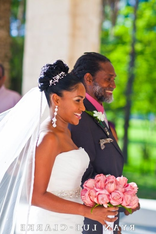 Jamaican-Wedding-Bride-238 | Brown Bride And Parents | Pinterest for Jamaican Wedding Hairstyles