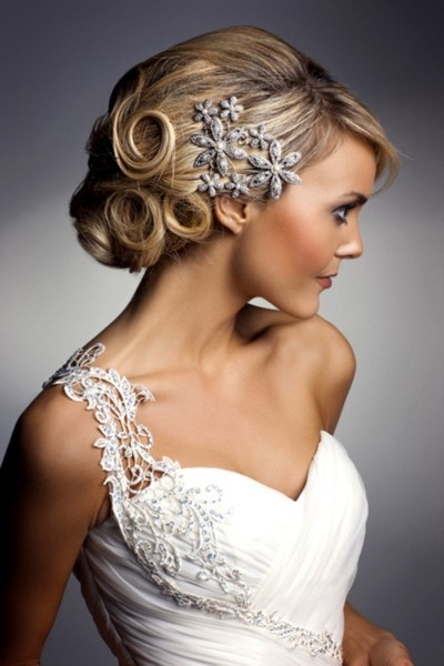 Janell's Hair Journal: March Down The Aisle In Style Throughout Pin Curls Wedding Hairstyles (View 15 of 15)