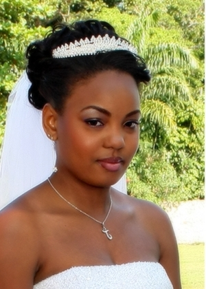 Jody-Marie And Carl's Wedding | Real Weddings | Wedding Mapper intended for Jamaican Wedding Hairstyles