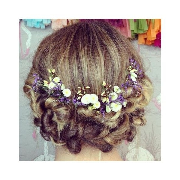 Junior Bridesmaid Hairstyles ? Liked On Polyvore | Hairstyles Pertaining To Wedding Hairstyles For Junior Bridesmaids (View 7 of 15)
