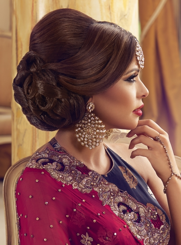 Kajol Ali :: Khush Mag – Asian Wedding Magazine For Every Bride And Regarding Asian Wedding Hairstyles (View 12 of 15)