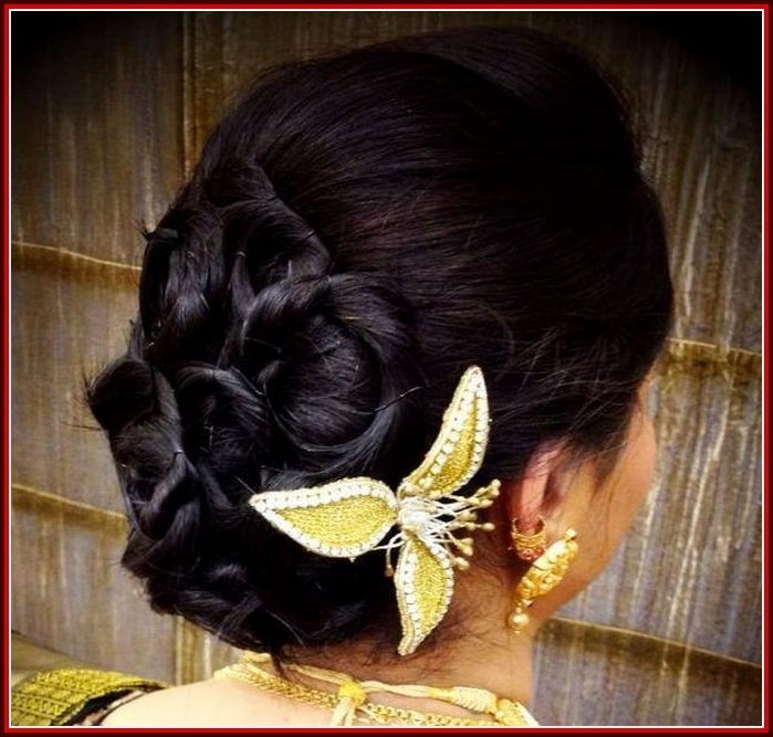 Kerala Christian Bridal Hairstyles Pictures – Indian Beauty Tips Inside Christian Bride Wedding Hairstyles (View 14 of 15)