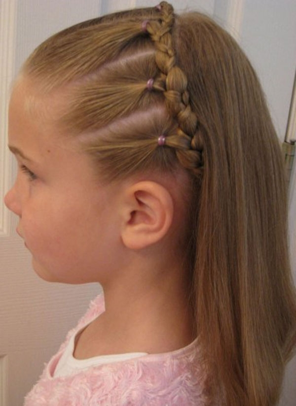 Kids Hairstyles For Girls Boys For Weddings Braids African American Within Childrens Wedding Hairstyles For Short Hair (View 8 of 15)