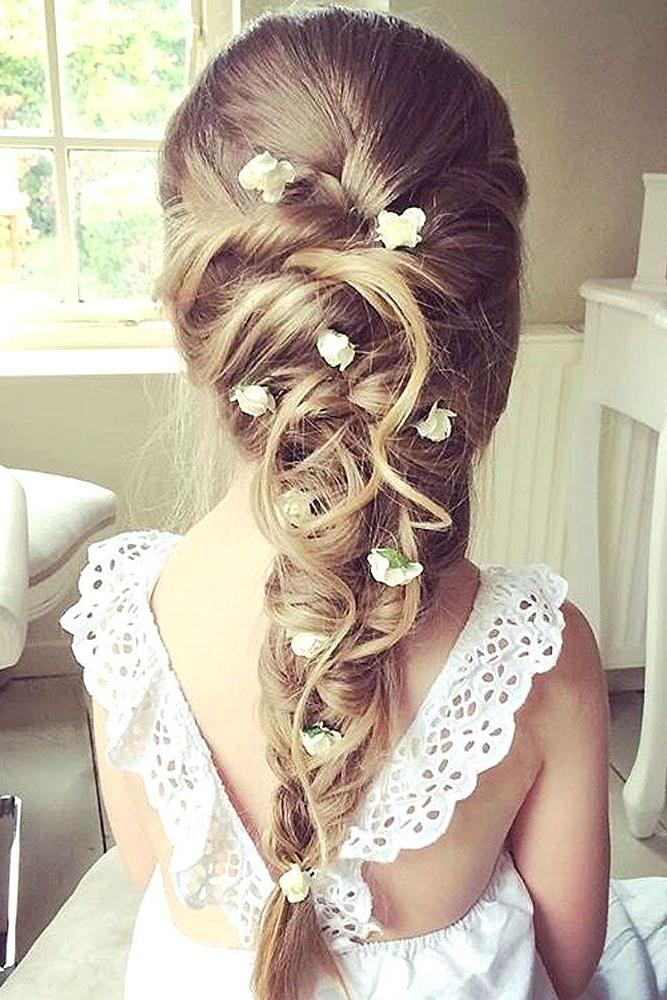 Kommunions Haare | Wedding Hair | Pinterest | Communion, Hair Style Inside Wedding Hairstyles For Girls (View 11 of 15)