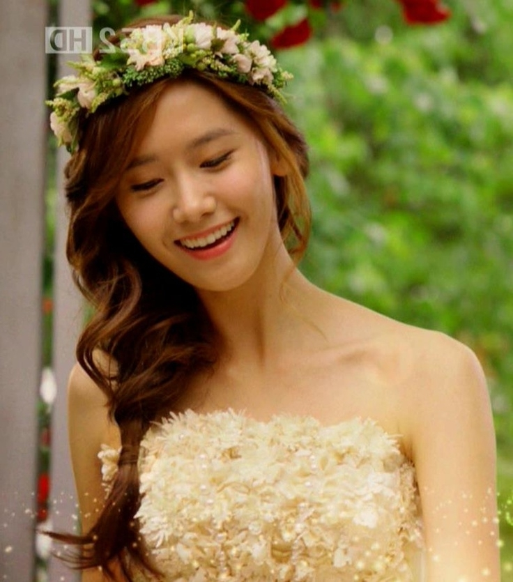15 Inspirations Of Korean Wedding Hairstyles For Long Hair