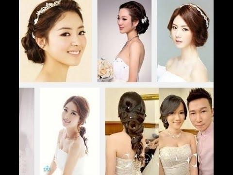Korean Wedding Hair Style 2014 – Youtube Throughout Korean Wedding Hairstyles (View 3 of 15)