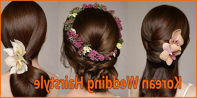 Korean Wedding Hairstyle Inspiration 2018 For Your Big Day Within Korean Wedding Hairstyles (View 11 of 15)
