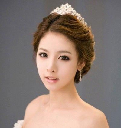 Korean Wedding Hairstyle … | Inspiration | Pinterest | Korean In Korean Wedding Hairstyles (View 7 of 15)
