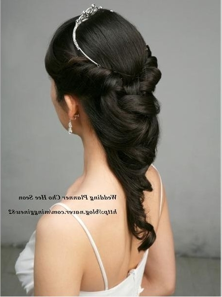 Korean Wedding Hairstyle | Tangled | Pinterest | Korean Wedding With Regard To Korean Wedding Hairstyles For Long Hair (View 7 of 15)