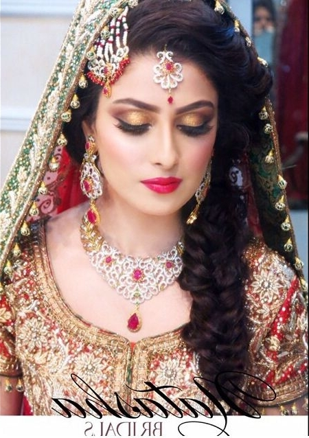 Image Gallery Of Pakistani Wedding Hairstyles View 3 Of 15 Photos