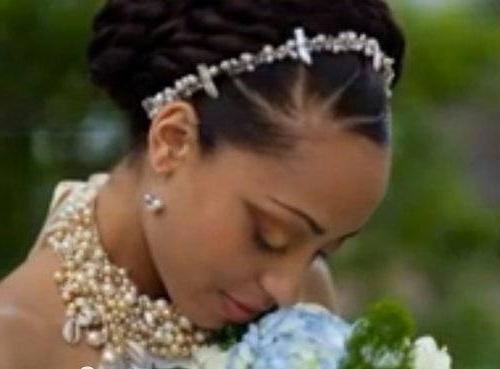 Latest Wedding Hairstyles: 50 Hair Style Ideas For Nigerian Brides Regarding Wedding Hairstyles For Nigerian Brides (View 3 of 15)