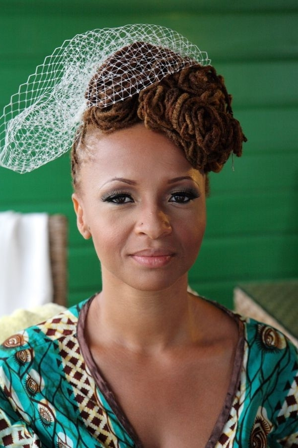 Liberian And Jamaican Wedding With Elegant Island Vibe From Karl Throughout Jamaican Wedding Hairstyles (View 14 of 15)