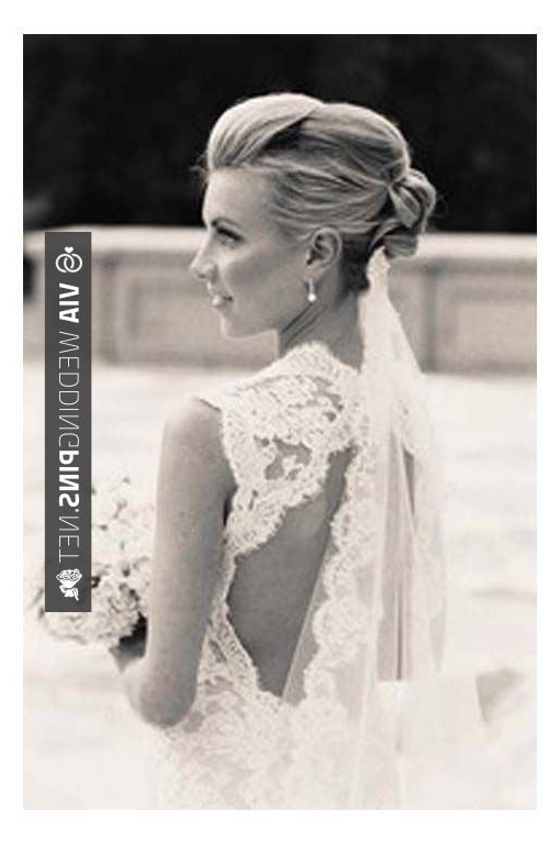 Like This! – Wedding Hair With Veil Hairstyles, Wedding Updos With With Regard To Wedding Hairstyles With Veil Underneath (View 11 of 15)