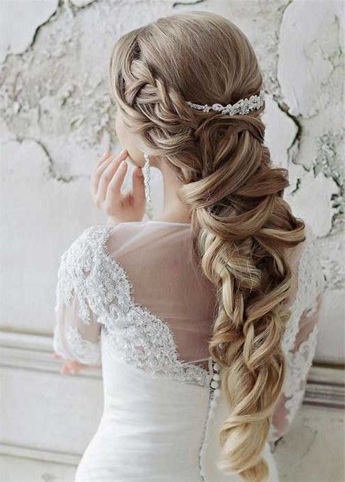 Long Blonde Wedding Hairstyles | Say I Do | Pinterest | Blonde Inside Wedding Hairstyles For Long Blonde Hair (View 6 of 15)