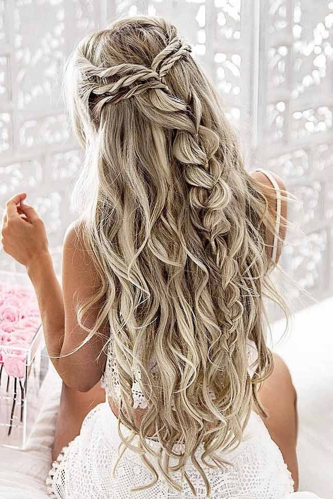 Long Hairstyles And Haircuts – 60 Marvelous Styles Of Long Hair Inside Wedding Hairstyles For Extra Long Hair (View 7 of 15)