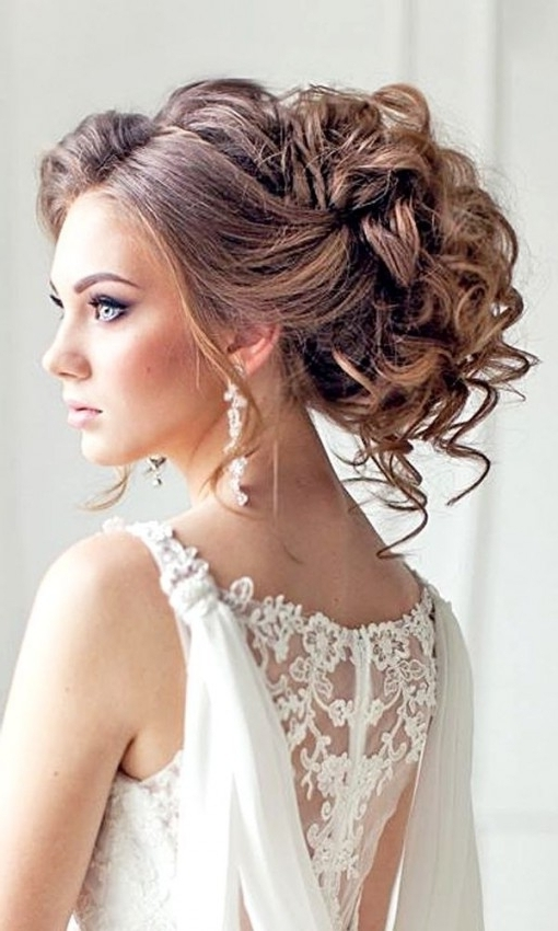Long Hairstyles : Wedding Hairstyles For Long Hair With Tiara Top Intended For Wedding Hairstyles For Long Hair With A Tiara (View 7 of 15)
