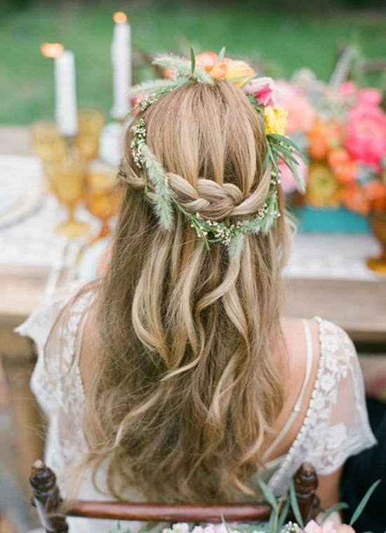 Long Hairstyles Wedding Hair,wedding Long Hairstyles With Wedding Hairstyles For Long Boho Hair (View 7 of 15)