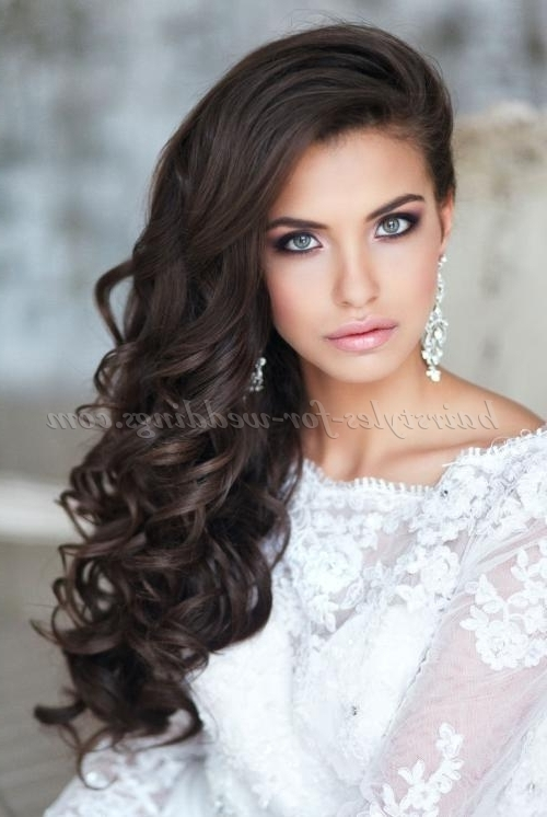 Long Wedding Hairstyles – Hair Down Wedding Hairstyle | Hairstyles Intended For Wedding Hairstyles With Long Hair Down (View 2 of 15)