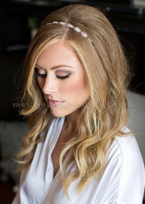 Long+Wedding+Hairstyles+ +Hair+Down+Wedding+Hairstyle+With+Headband With Regard To Wedding Hairstyles Down With Headband (View 11 of 15)
