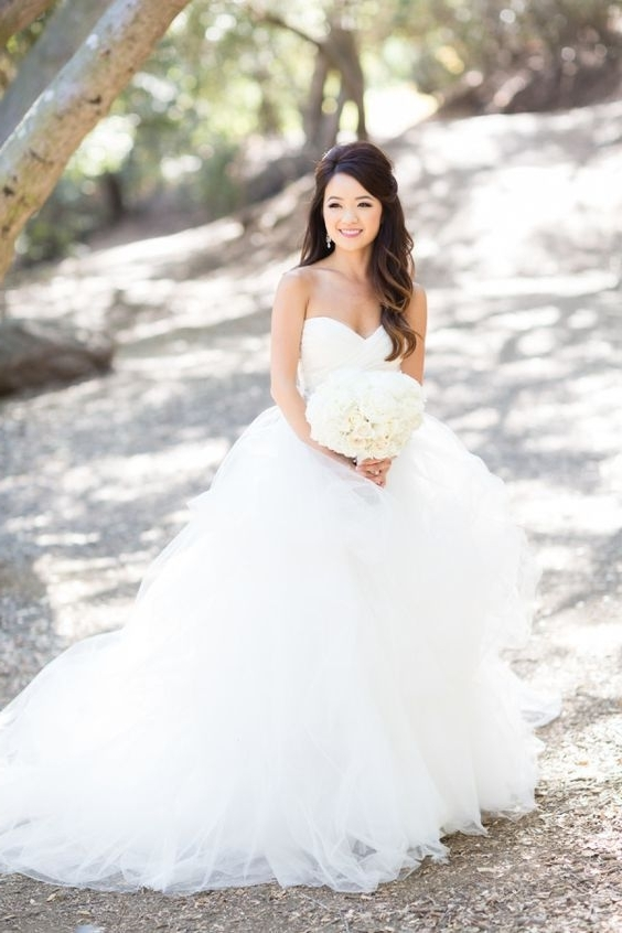 Featured Photo of Wedding Hairstyles For A Strapless Dress