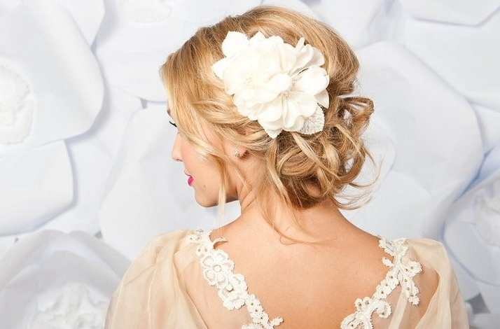 Loose Low Bun Wedding Hairstyles   Hair Color Ideas And Styles For 2018 For Loose Bun Wedding Hairstyles (View 14 of 15)