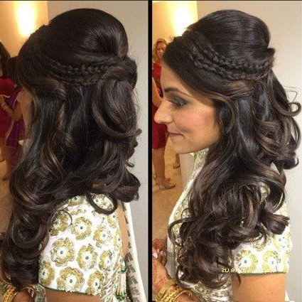 Lovely Asian Wedding Hairstyle For Long Hair | Improvestyle Within Asian Wedding Hairstyles For Long Hair (View 12 of 15)