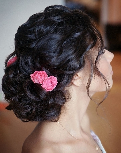 Low Bun Wedding Hairstyles – Chignon Hairstyle For Weddings Intended For Chignon Wedding Hairstyles (View 8 of 15)