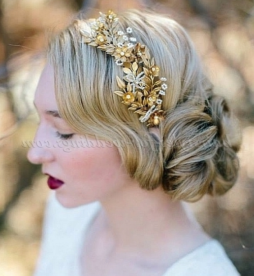 Featured Photo of Wedding Hairstyles With Hair Piece