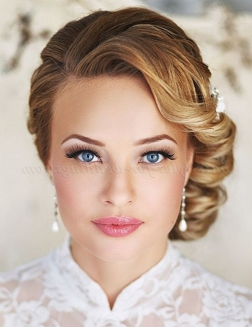 Low Bun Wedding Hairstyles – Low Side Bun Wedding Hairstyle For Buns To The Side Wedding Hairstyles (View 2 of 15)