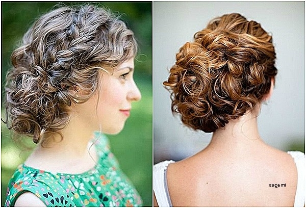 Explore Photos of Wedding Updo Hairstyles For Long Curly Hair ...