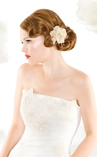 Marcel Waves And Finger Waves Hairstyles Of The 1920S | Finger Waves Regarding 1920S Era Wedding Hairstyles (View 8 of 15)