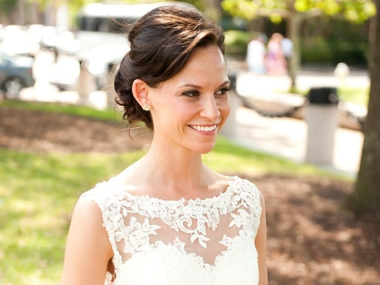 Match Your Hairstyle To Your Wedding Dress Neckline | Wedding Dress For Wedding Hairstyles To Match Your Dress (View 2 of 15)