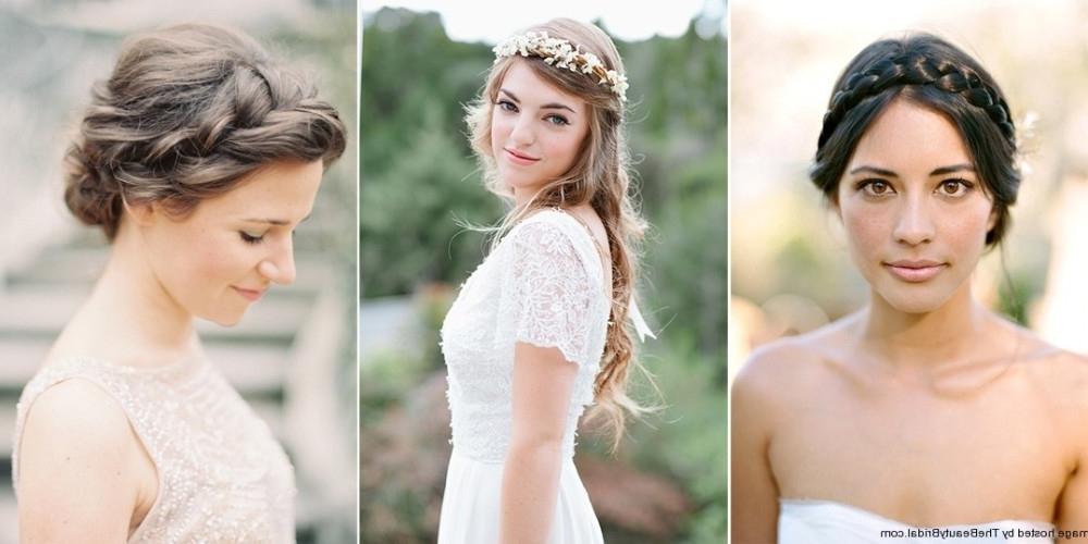 Medium Hair   Wedding Dress   Hairstyles   Bridal Beauty Throughout Romantic Bridal Hairstyles For Medium Length Hair (View 14 of 15)