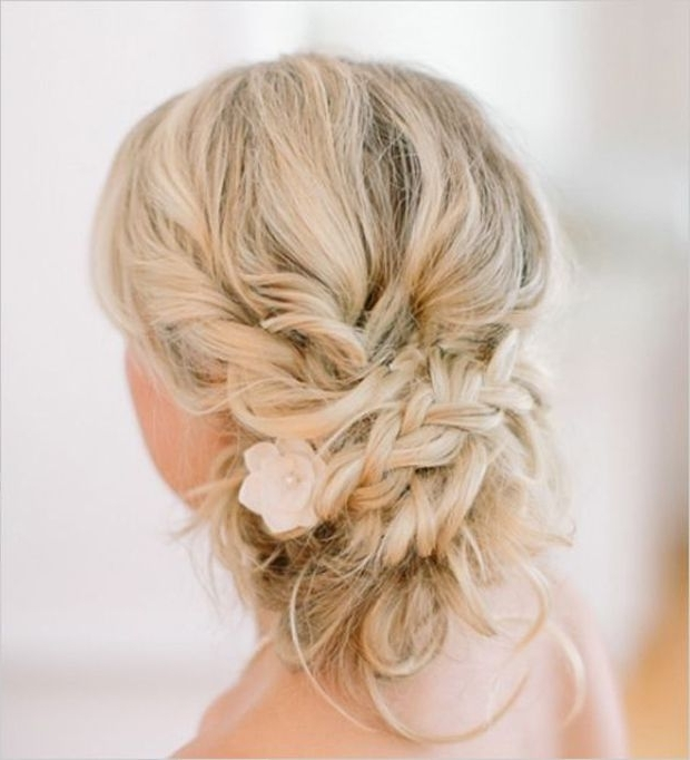 Messy Hair Don't Care! 16 Messy Bridal Hairstyles That Just Don't Within Messy Wedding Hairstyles (View 13 of 15)