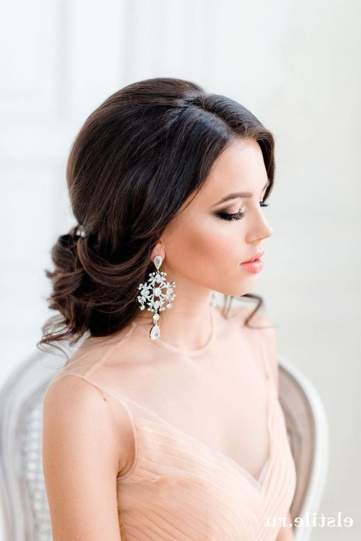 Messy Wedding Hairstyle For Long Hair   Tulle & Chantilly Wedding Blog In Bridal Wedding Hairstyles (View 13 of 15)