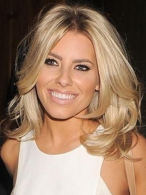 Mid Length Blonde Hair Mollie Kinglouisa | Jennz | Pinterest In Wedding Hairstyles For Medium Length With Blonde Hair (View 13 of 15)