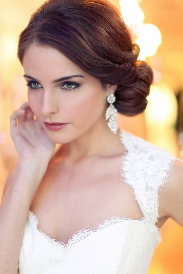 Modern Concept Vintage Wedding Hairstyles For Long Hair With Retro Regarding Retro Wedding Hairstyles For Long Hair (View 12 of 15)