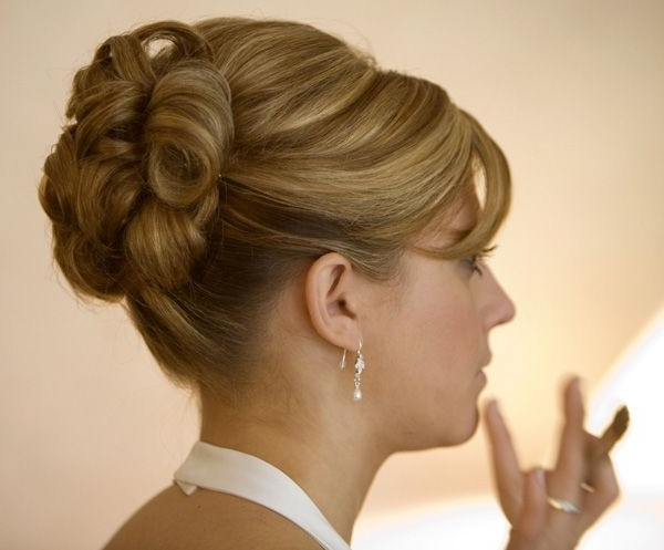 Modern Wedding Hairstyles | Wedding Hair Styles | Pinterest | Updos Pertaining To Modern Wedding Hairstyles For Medium Length Hair (View 5 of 15)