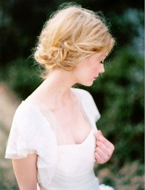 Most Popular Short Wedding Hairstyles – Cool & Trendy Short Inside Wedding Hairstyles For Short Blonde Hair (View 14 of 15)