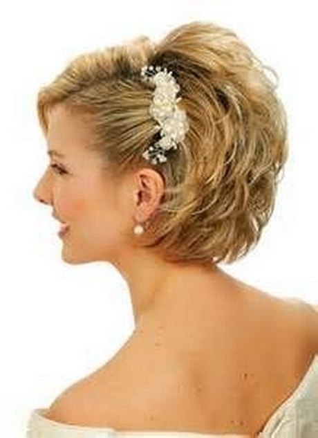 Mother Of The Bride Hairstyles For Short Hair | Hairstyles Pertaining To Easy Bridal Hairstyles For Short Hair (View 9 of 15)