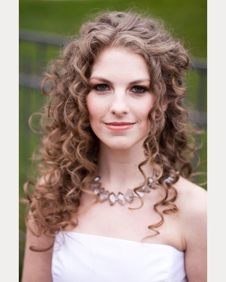 Featured Photo of Wedding Hairstyles For Long Natural Curly Hair
