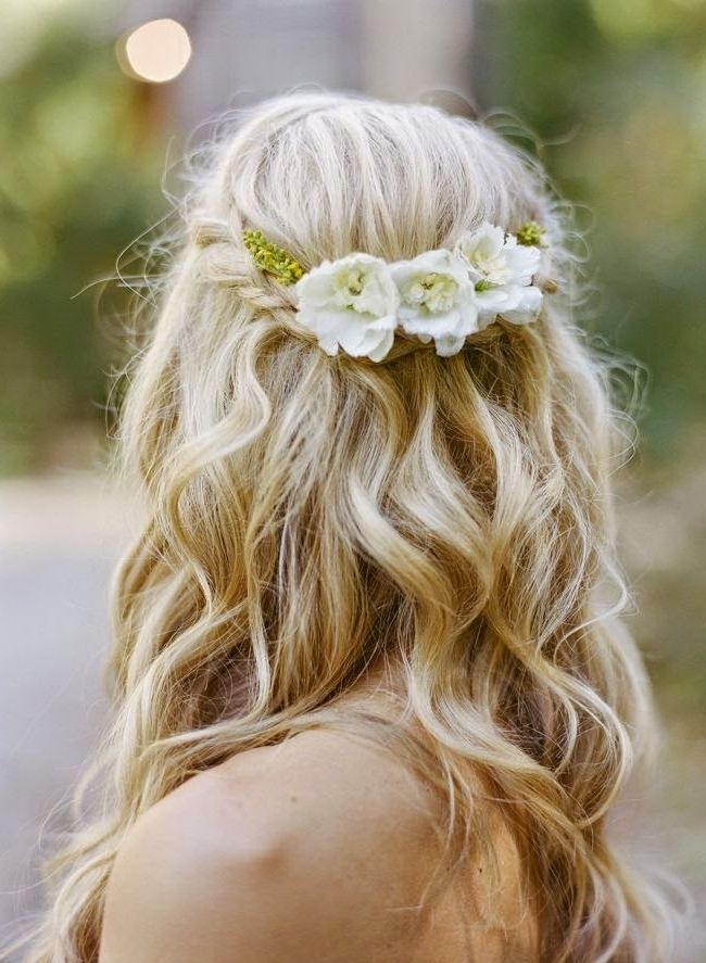 My Fashion Style: Stunning Wedding Hairstyles Pertaining To Relaxed Wedding Hairstyles (View 11 of 15)