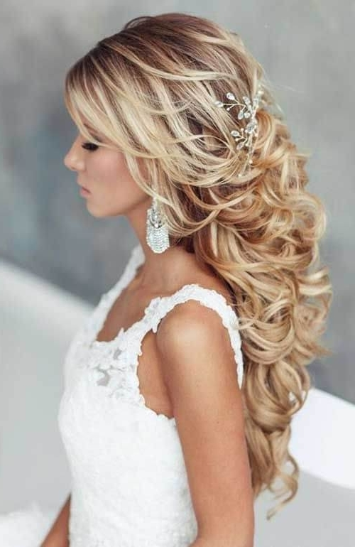 Natural Curly Wedding Hairstyle 2018 2018 Hair Styles Updos For Curly Wedding Hairstyles (View 12 of 15)