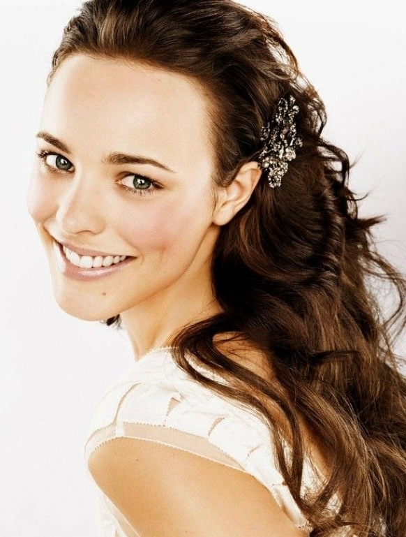 Natural Wedding Hairstyles ? Long Loose Curls Wedding Hair | Sade intended for Wedding Hairstyles For Long Loose Hair